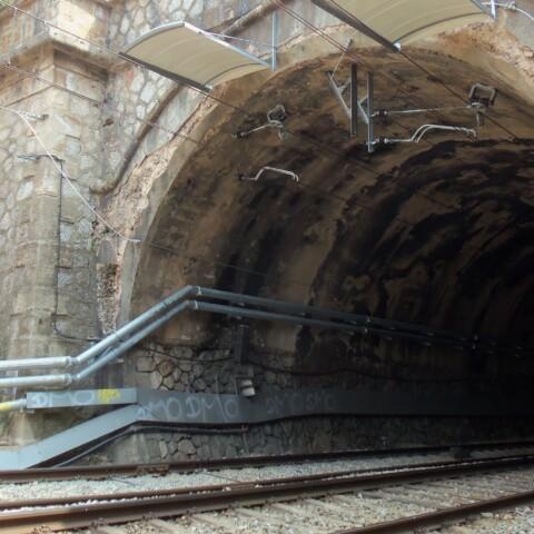 inspección de túneles